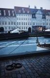 Winter morning - Nyhavn, Copenhagen Royalty Free Stock Photo