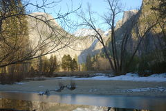 Winter Morning, Yosemite Royalty Free Stock Image