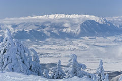 Winter mountain Royalty Free Stock Images