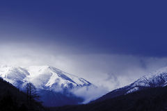 Winter mountain Royalty Free Stock Photo