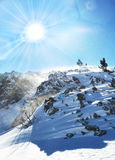 Winter mountain Stock Image