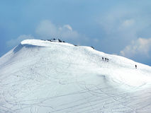 Winter mountain royalty free stock photography