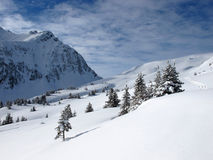 Winter mountain Stock Photography