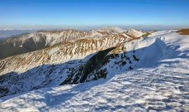 Winter mountain landcape Stock Photography