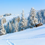 Winter mountain landscape Stock Photo