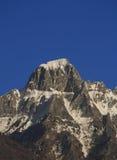 Winter mountain landscape Royalty Free Stock Photo