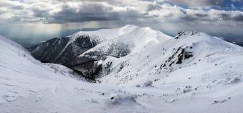 Winter mountain landscape - Mala Fatra Stock Photos