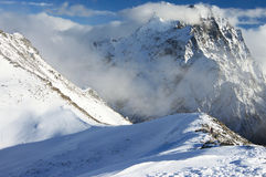 Winter mountain landscape Stock Image