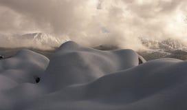 Winter mountain landscape. Tatry. Beautiful winter mountain landscape. Tatry royalty free stock photos