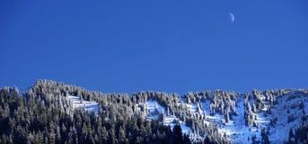 Winter Mountain Landscape. Zaily Alatau Winter Mountains Royalty Free Stock Image