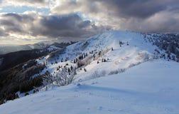 Winter mountain panorama - Donovaly Stock Photos