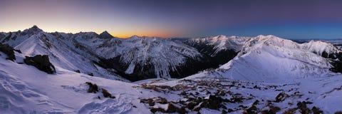 Winter mountain in Poland, Kasprowy Stock Photos