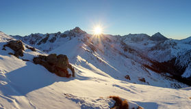 Winter mountain in Poland, Kasprowy Stock Photography