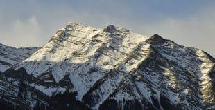 Winter Mountain Range Royalty Free Stock Image