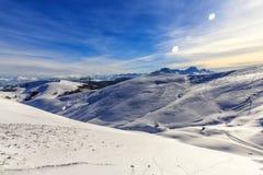 Winter mountain  scape Royalty Free Stock Photos