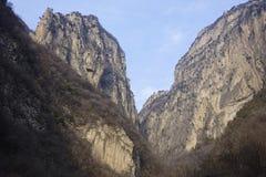 Winter mountain scenery Stock Photos
