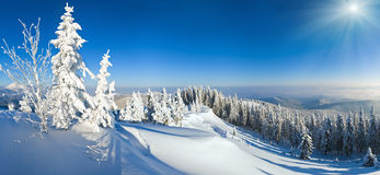Free Winter Mountain Sunshine View Stock Image - 61677821