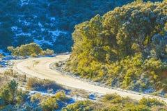 Chrea. Winter in the mountain of tikejda, Algeria Royalty Free Stock Images