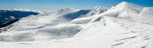 Winter mountain view Stock Photos