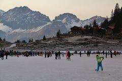 Winter, Mountainous Landforms, Mountain Range, Snow royalty free stock image