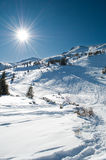 Winter mountainous landscape Royalty Free Stock Photos