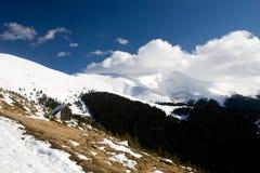 Winter on mountains Stock Photo