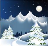 Winter mountains Royalty Free Stock Photo