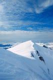 Winter in the mountains. Ukrainian Carpathians, Mount Bliznitsa. Mid-October stock images