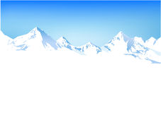Winter mountains Royalty Free Stock Photo