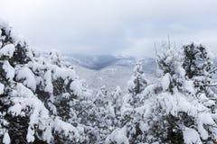 Winter mountains Royalty Free Stock Photos