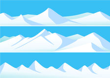 Winter mountains Royalty Free Stock Photos