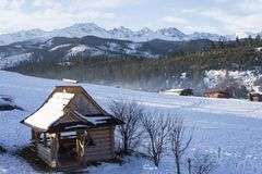 Beautiful landscape in Tatra mountains Stock Image