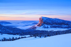 Winter mountains Stock Images