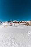 The winter mountains in gusar region of azerbaijan Royalty Free Stock Photography