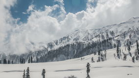 Winter Mountains stock footage