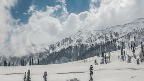 Winter Mountains stock video