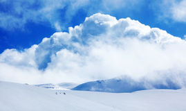 Winter mountains landscape Royalty Free Stock Photography
