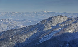 Winter mountains landscape Stock Photography