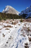 Winter mountains and meadows Royalty Free Stock Photography