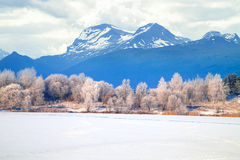 Winter mountains. Norway Stock Photography
