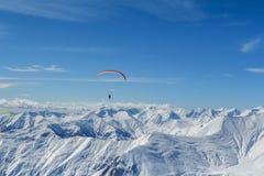 Winter mountains panorama Royalty Free Stock Photos