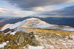Winter in mountains, Poland Stock Images