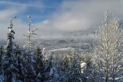 Winter at the Mountains. Shot at Whistler, British Columbia Stock Photos