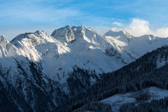 Winter mountains Royalty Free Stock Images