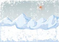 Winter mountains Stock Image