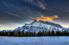 Winter in the mountains Royalty Free Stock Images