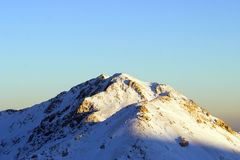 Winter in the mountains of Turkey. Bright white Clouds and snow mountains (Turkey Stock Photography
