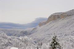 Winter mountains view Stock Photos