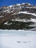 Winter mountais in the otztal alps stock photos