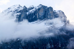 Winter moutains with snow Royalty Free Stock Images